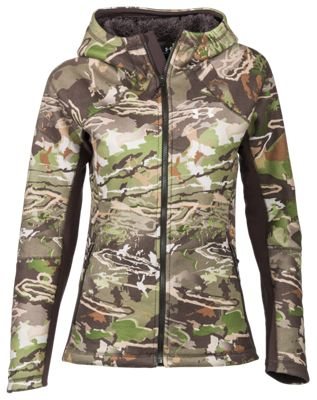 Under Armour Stealth Hoodie for Ladies – Ridge Reaper Camo Forest – S