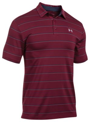 5f632457 Under Armour UA Playoff Polo for Men Black Currant XL