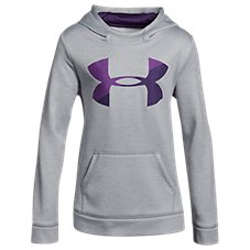 Under Armour Novelty Armour Fleece Big Logo Hoodie for Kids