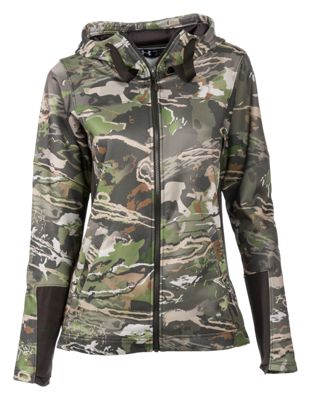 Under Armour Early Season Hoodie for Ladies – Ridge Reaper Camo Forest – L