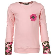 Bass Pro Shops Layered Sweatshirt for Toddlers or Girls