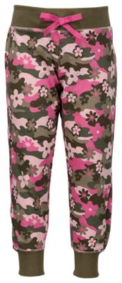 Bass Pro Shops Floral Camo Jogger Pants for Girls - 4-5 thumbnail