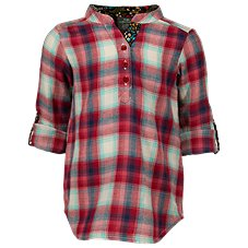Bass Pro Shops Plaid Chambray Tunic for Toddlers or Girls