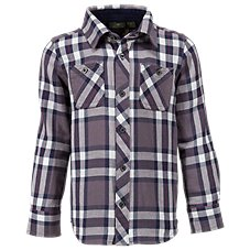 Bass Pro Shops Plaid Button Down Shirt for Toddlers or Boys