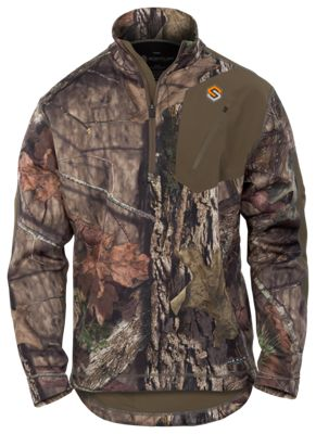 Scent-Lok Nexus Summit Weight 1/4-Zip Top for Men – Mossy Oak Break-Up Country – M