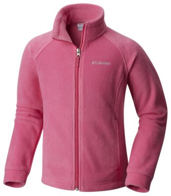 01011c9ea Columbia Benton Springs Fleece Jacket for Toddlers Pink Ice 2T
