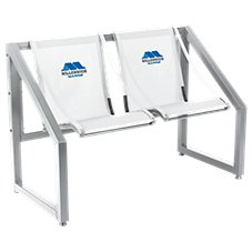 Millennium All Weather Aluminum Marine Deck Bench