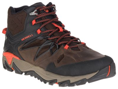 Merrell All Out Blaze 2 Mid Waterproof Hiking Boots For Men Clay 9m