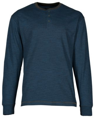 RedHead Cross Timber Henley for Men - Blue Wing Teal - XL