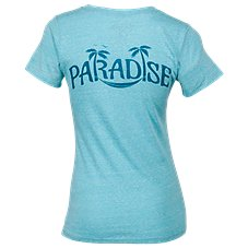 Salt Life Paradise Tri-Blend V-Neck T-Shirt for Ladies
