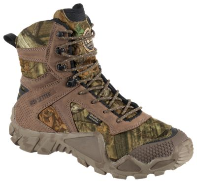 "Irish Setter VaprTrek 8"" Insulated Waterproof Hunting Boots for Men – Mossy Oak Break-Up Infinity – 8M"