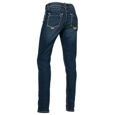 Natural Reflections Thick Stitch Skinny Jeans for Ladies