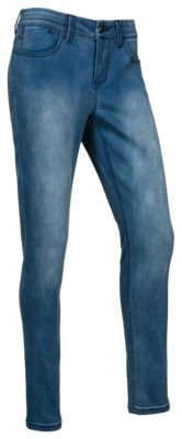 Natural Reflections Ab Slimmer Skinny Jeans For Ladies Light Wash 4