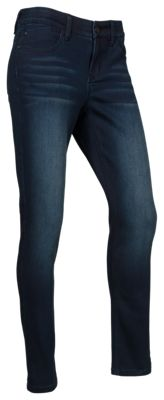 Natural Reflections Ab Slimmer Skinny Jeans For Ladies Dark Wash 14