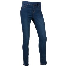 Natural Reflections Stretch Pull-On Skinny Jeans for Ladies