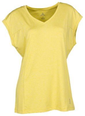 Ascend Space Dye Cap-Sleeve Top for Ladies - Cress Green - L