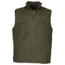 RedHead Sherpa-Lined Canvas Vest for Men