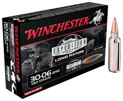 Winchester Expedition Big Game Long Range Centerfire Rifle Ammo - 7mm Remington Magnum
