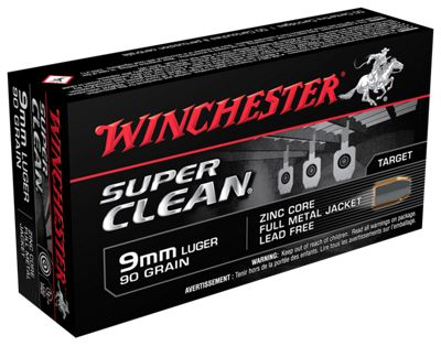 Winchester Super Clean Handgun Ammo