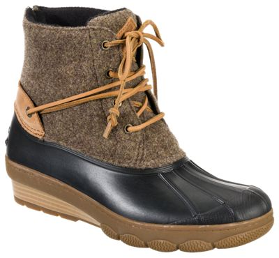 8852b8d88d96 ... name   Sperry Saltwater Wedge Tide Wool Boots for Ladies