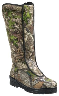 SHE Outdoor Bayou Waterproof Side-Zip Snake Boots for Ladies by