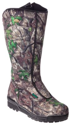RedHead Bayou Waterproof Side Zip Snake Hunting Boots for Men by