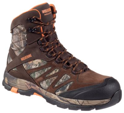 616699bfbc5 Wolverine Boone Insulated Waterproof Hunting Boots for Men ...