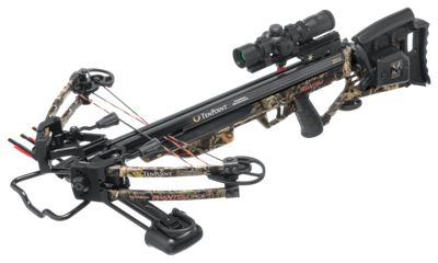 Click here to buy TenPoint Carbon Phantom RCX Crossbow Package with ACUdraw.