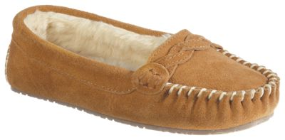 d0ab8451cfd1 Natural Reflections Ellie Moc Slippers for Ladies - Chestnut - 8M