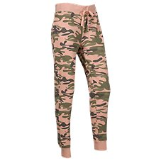 Natural Reflections Camo Jogger Lounge Pants for Ladies