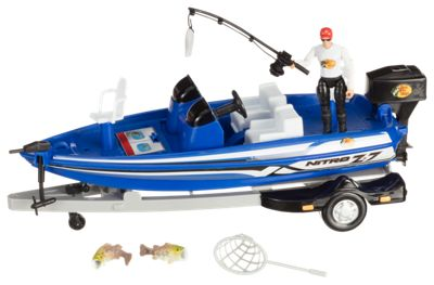 Bass Pro Shops Bass Boat Play Set for Kids