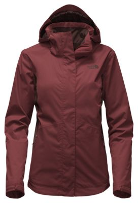 The North Face Mossbud Swirl Triclimate Jacket for Ladies - Barolo Red/Sequoia Red - 2XL
