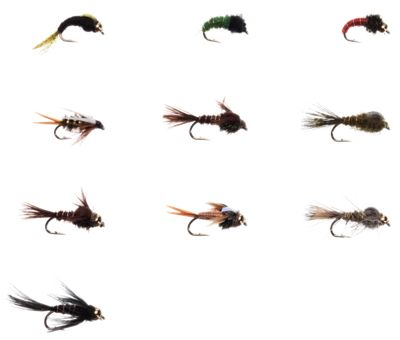 Cabela's 10-Piece Classic Nymphs Fly Assortment