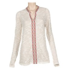 Bob Timberlake Embellished Knit Top for Ladies