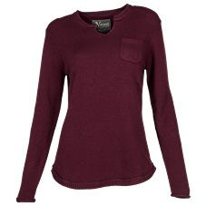Natural Reflections Notch Neck Top for Ladies
