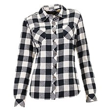 Natural Reflections Long-Sleeve Flannel Shirt for Ladies