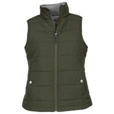 Natural Reflections Quilted Full-Zip Vest for Ladies