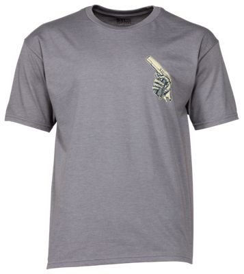 511 Tactical Cold Hands 45 T Shirt for Men Grey Heather M