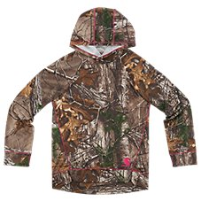 Carhartt Force Camo Pullover Hoodie for Girls