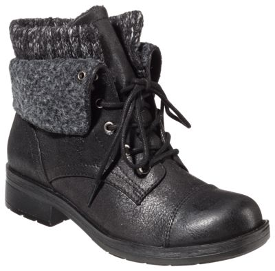 Natural Reflections Veruca Sweater Bootie Boots For Ladies Black 6m