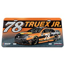 Bass Pro Shops NASCAR Martin Truex, Jr. #78 Crystal License Plate