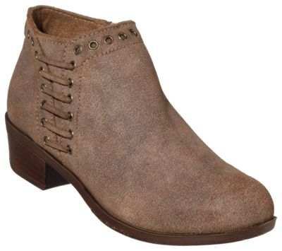 4738e774705 Minnetonka Moccasin Brenna Ankle Boots for Ladies Vintage Brown 10M