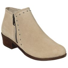 Minnetonka Moccasin Brie Side-Zip Boots for Ladies