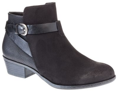 Natural Reflections Payton Side Zip Boots For Ladies Black 9m