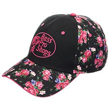 Bass Pro Shops Floral Sublimation Ball Cap for Ladies