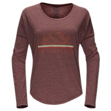 The North Face Mountain View Tri-Blend Long-Sleeve T-Shirt for Ladies