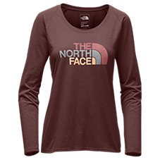 The North Face Half Dome Scoop Neck T-Shirt for Ladies