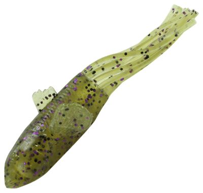 Savage Gear 3D Goby Tube - 3-1/2 - Light Pumpkin Candy