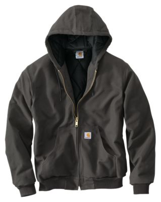 5e0ce8576f58 Carhartt Quilted-Flannel-Lined Duck Active Jacket for Men