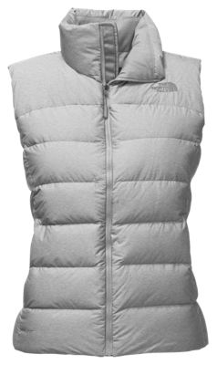 66c4eefc4 The North Face Nuptse Vest for Ladies TNF Light Grey Heather L